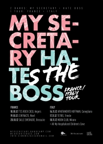 Hate Boss My Secretary France Italy Tour 2012
